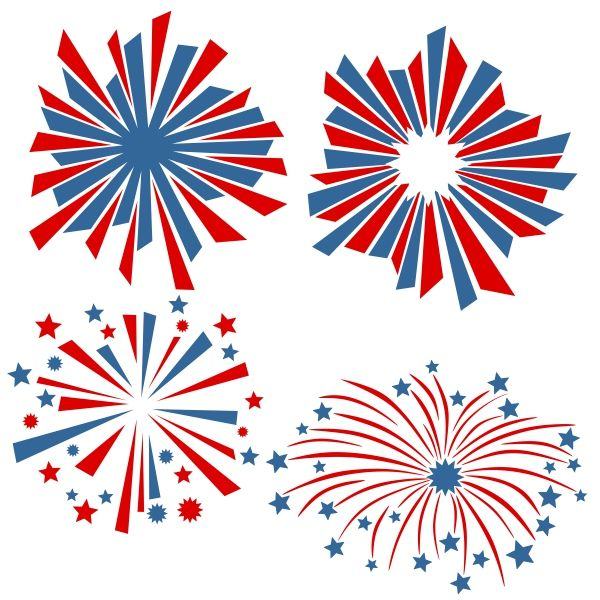 Pin by cuttabledesigns on. Clipart fireworks svg