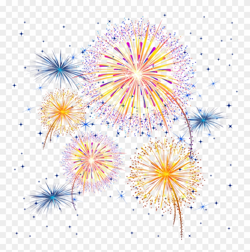 . Clipart fireworks transparent background