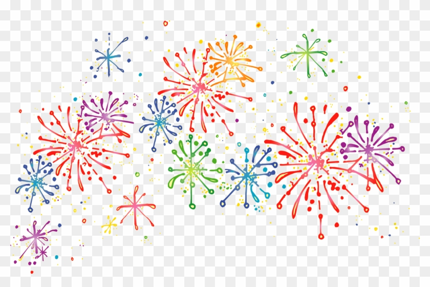 Firework hd png . Clipart fireworks transparent background