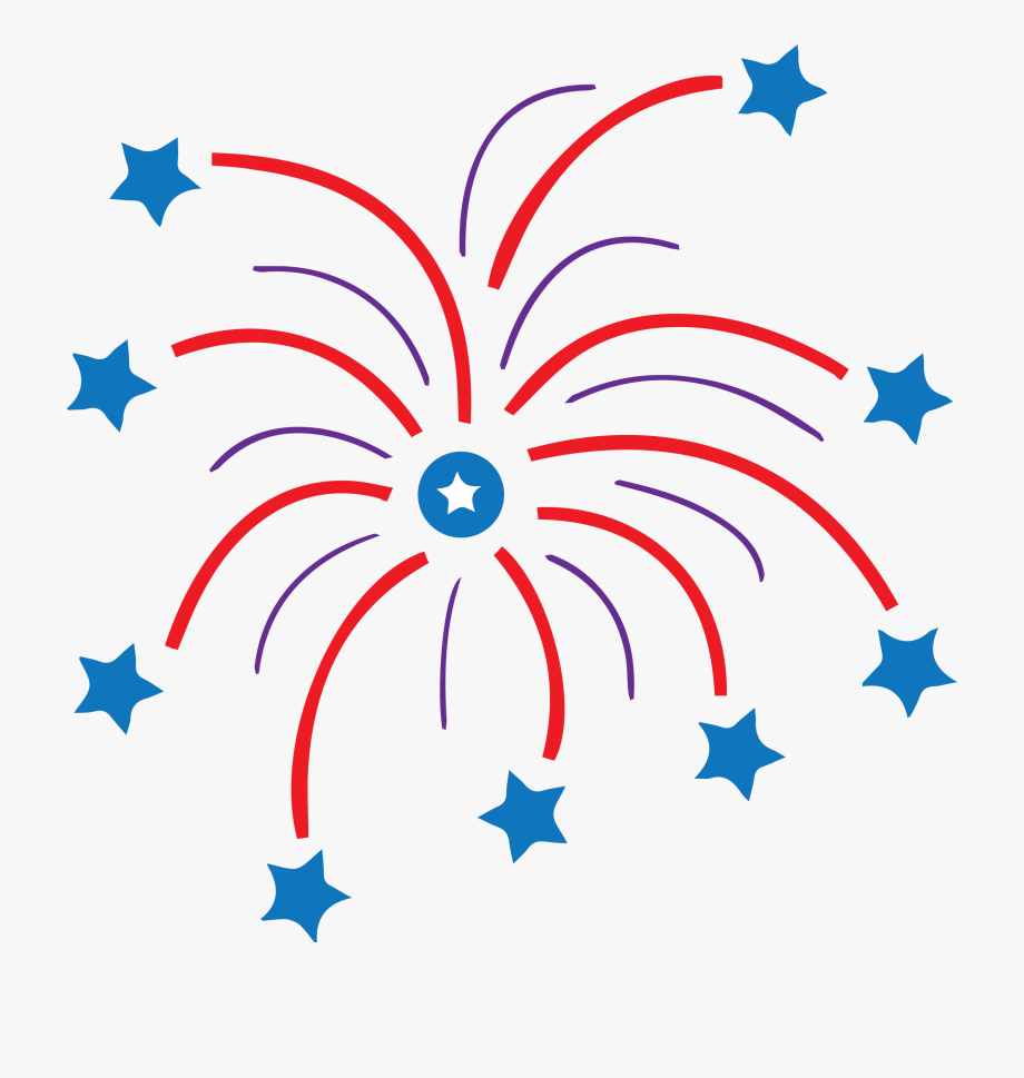 Fireworks clipart vintage. Stars free cliparts on