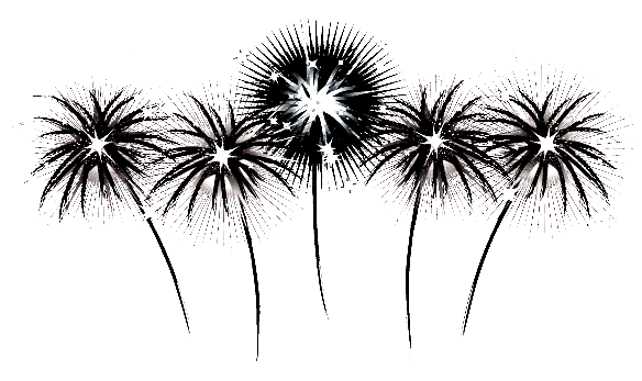 Search results from google. Fireworks clipart vintage