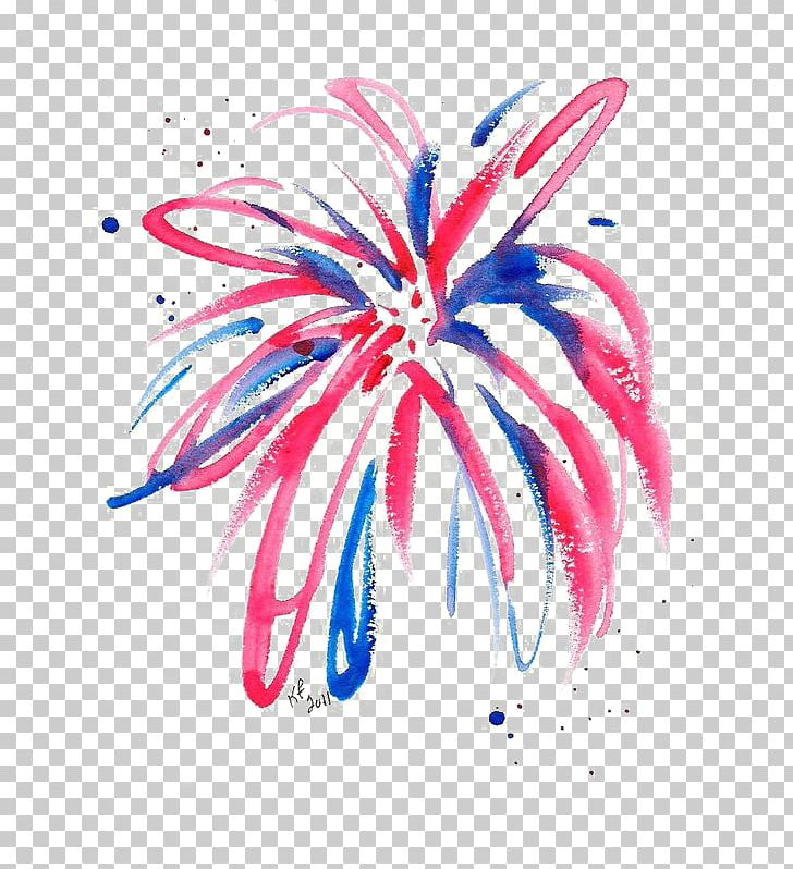 Clipart fireworks watercolor. Painting drawing png art