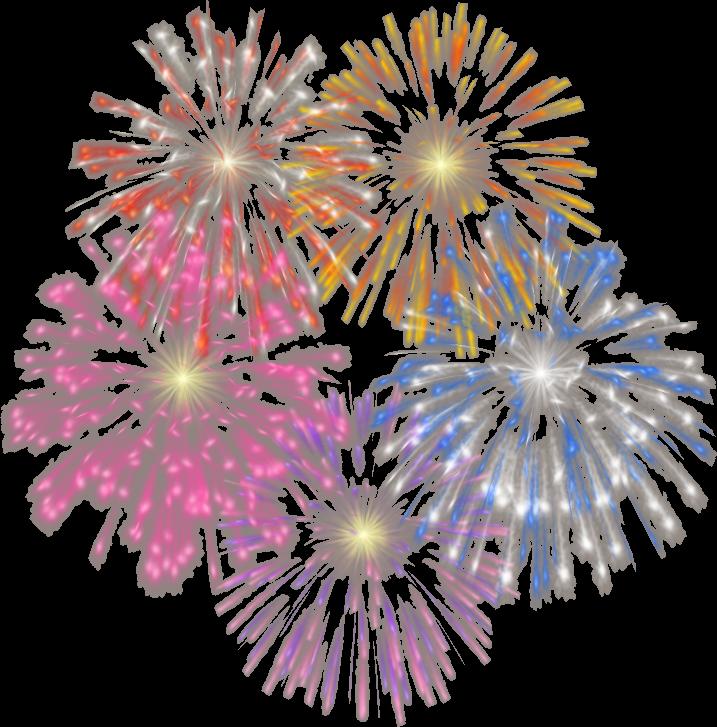 Fireworks clipart doodle.  pinterest bullet journals
