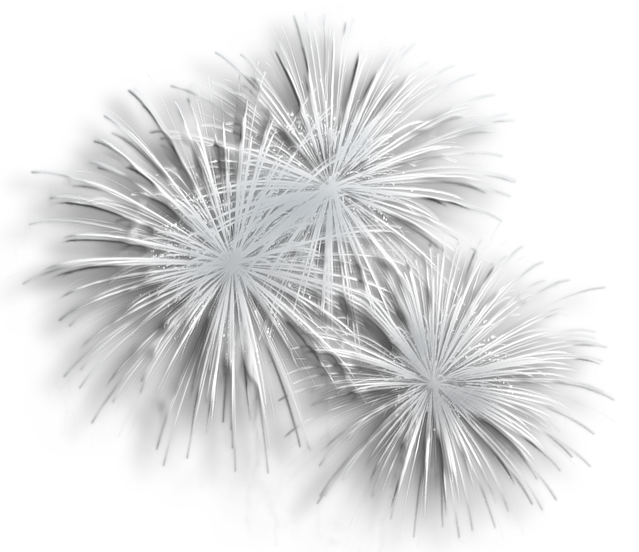 Transparent silver png gallery. Clipart fireworks white background