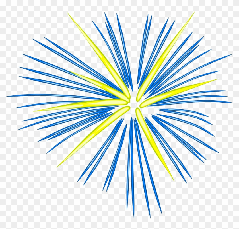 Firework clipart yellow. Fireworks png photo blue