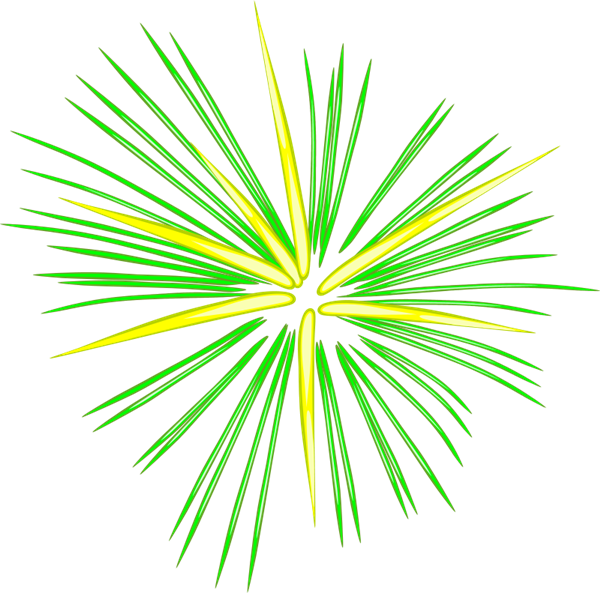Clipart fireworks yellow. Png transparent images free