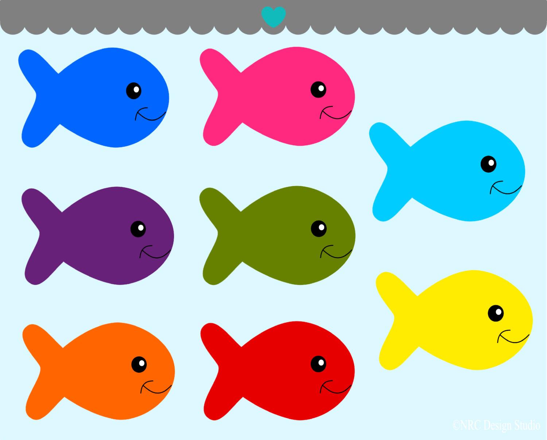 Clipart fish. Original clip art panda