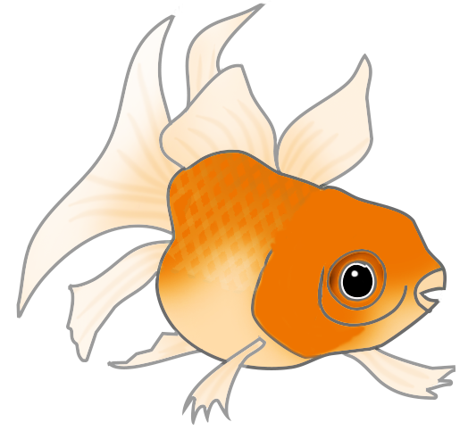 Clip art orange cat. Clipart fish