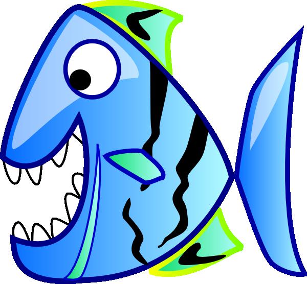 Blue clip art at. Xray clipart fish