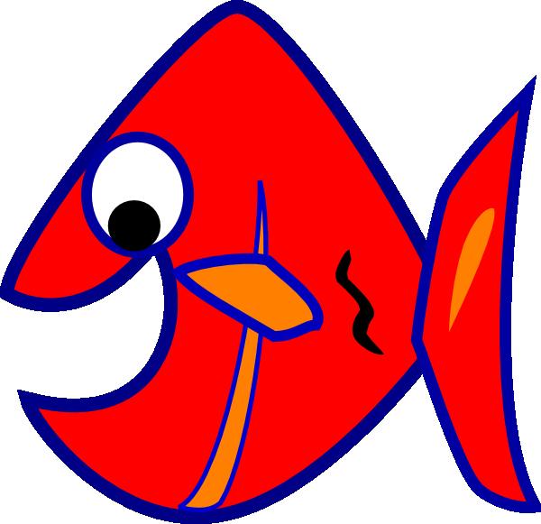 Clip art at clker. Fish clipart beige