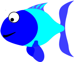 Clipart fish blue. Free cliparts download clip