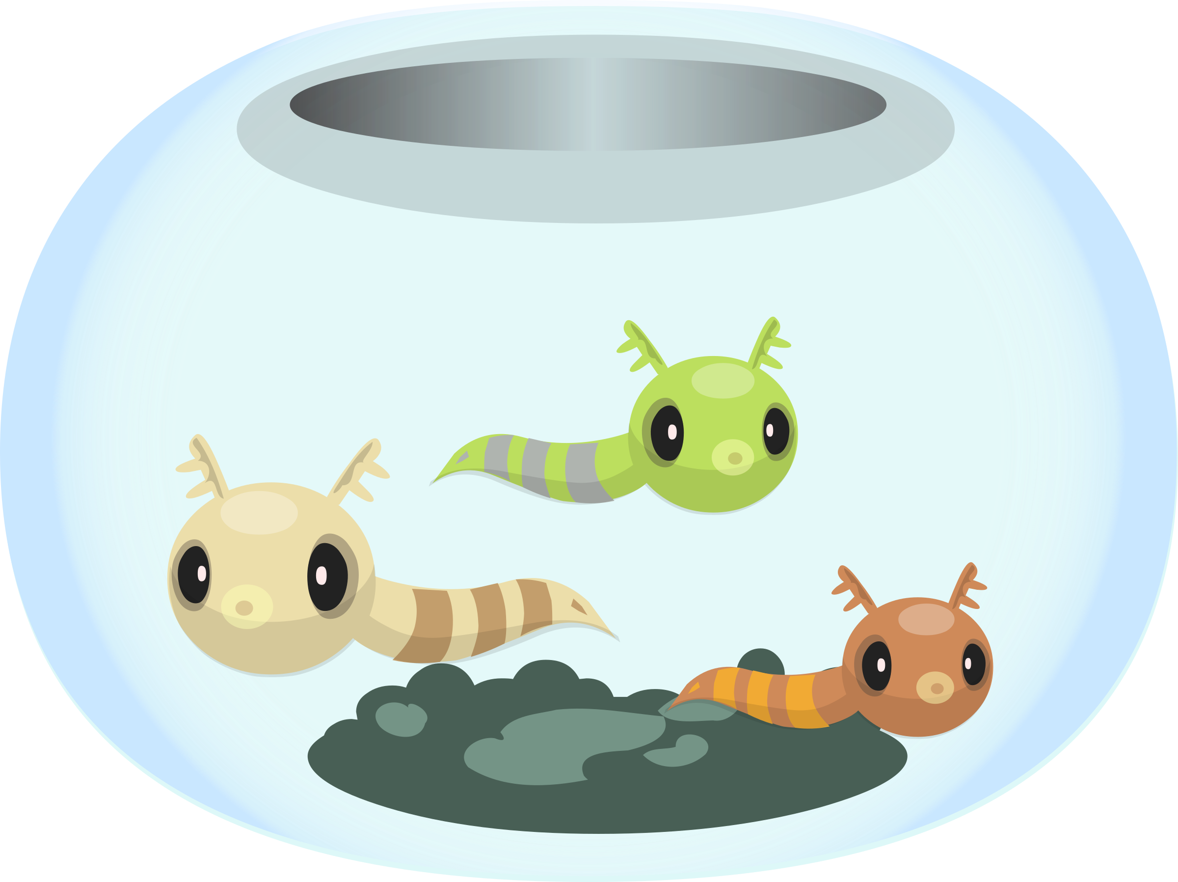 Firebog fishbowl from glitch. Clipart fish bowl