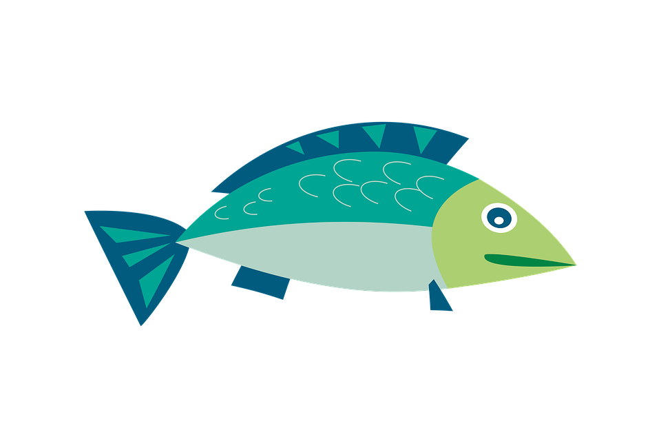 Free photo fish cartoon. Clipart ocean underwater