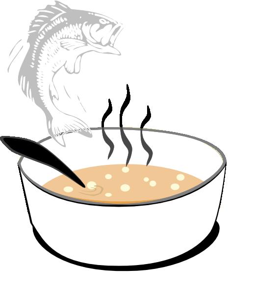 Soup clipart clip art. Fish at clker com