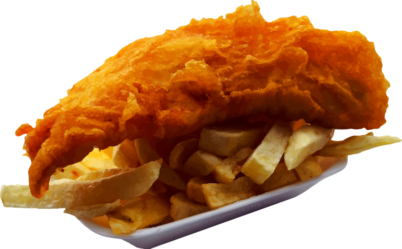 clipart fish chip