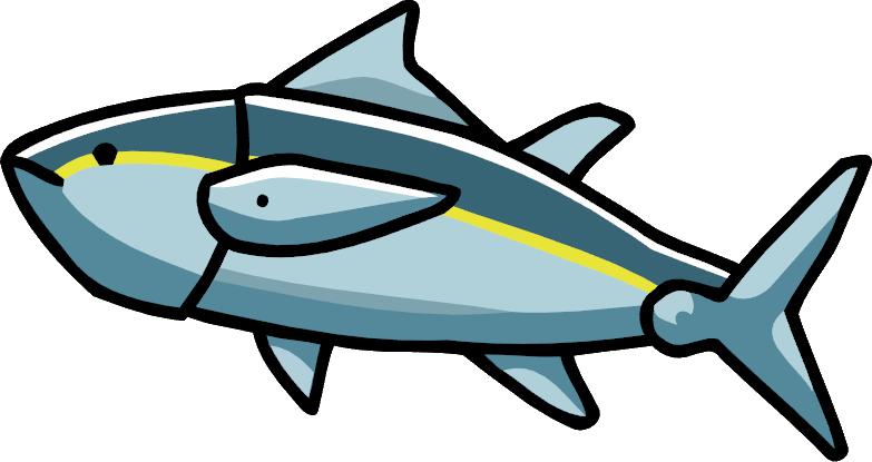 Clipart fish cod. Tuna scribblenauts wiki fandom