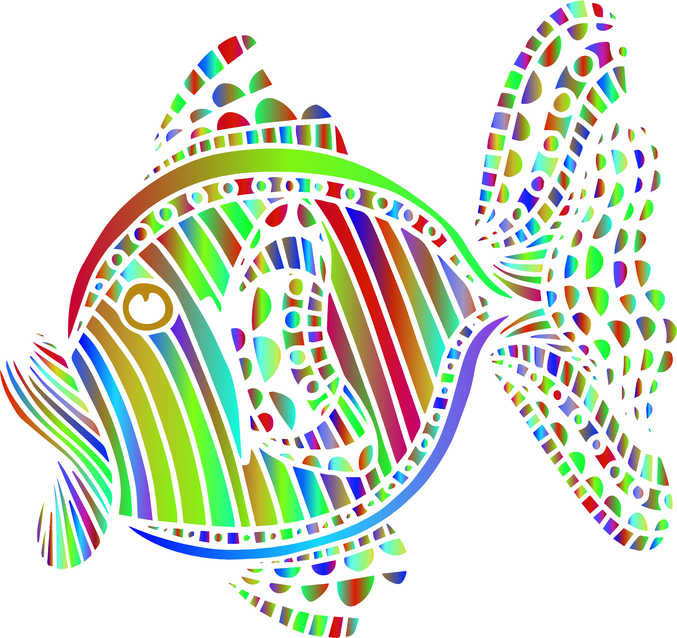 Clipart fish colorful. Abstract big image png