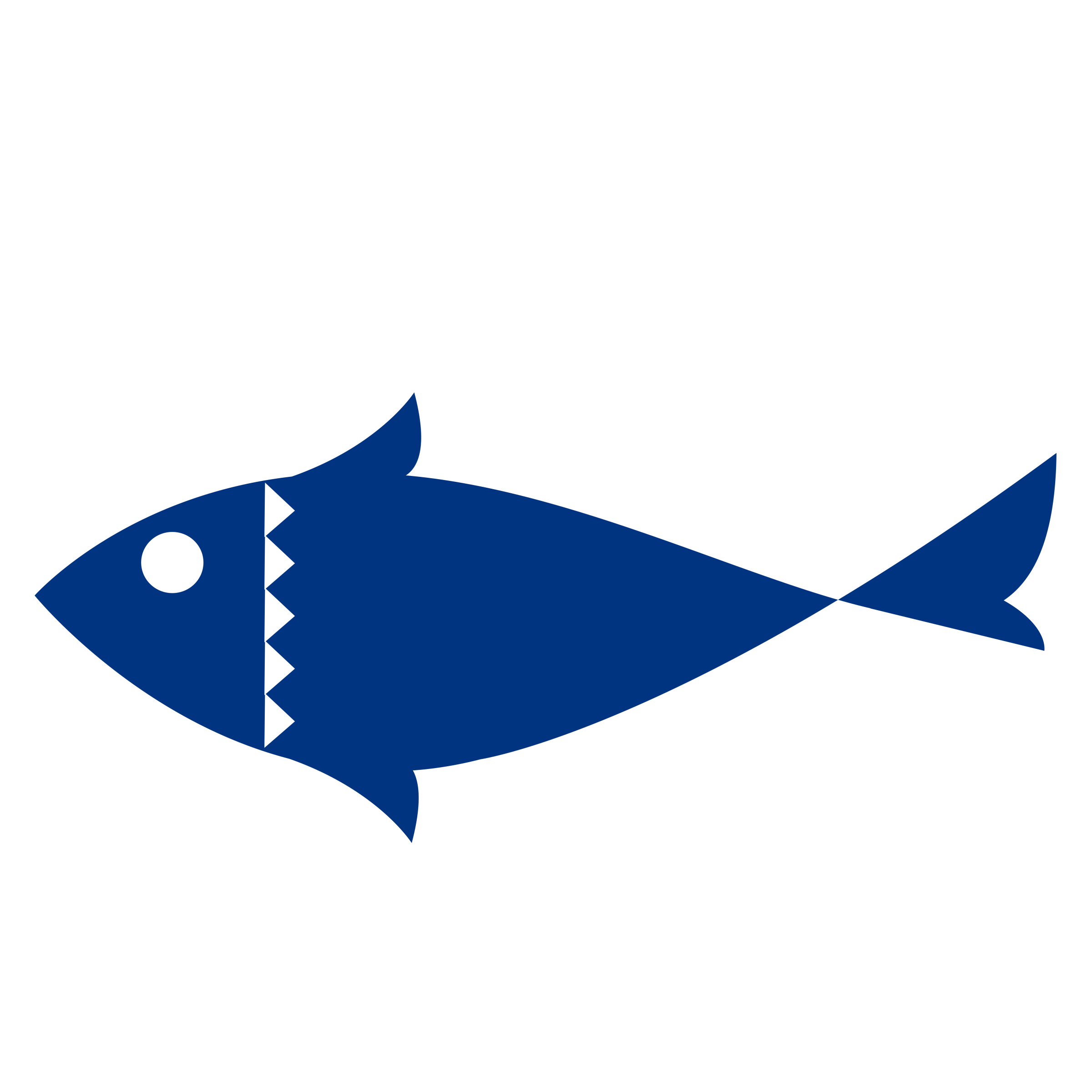 Tuna clipart svg. Fish one color flat