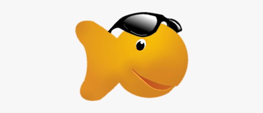 Gold . Goldfish clipart fish cracker