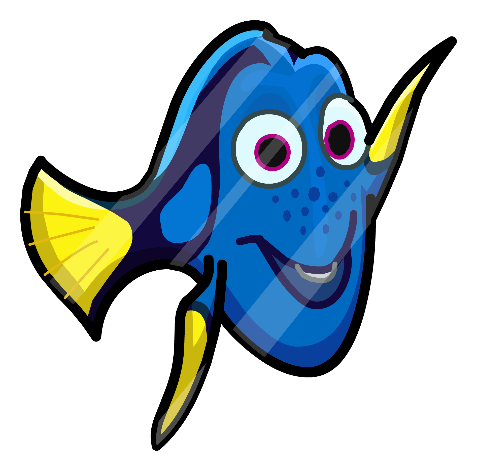 Dory clipart character pixar. Image finding pin icon