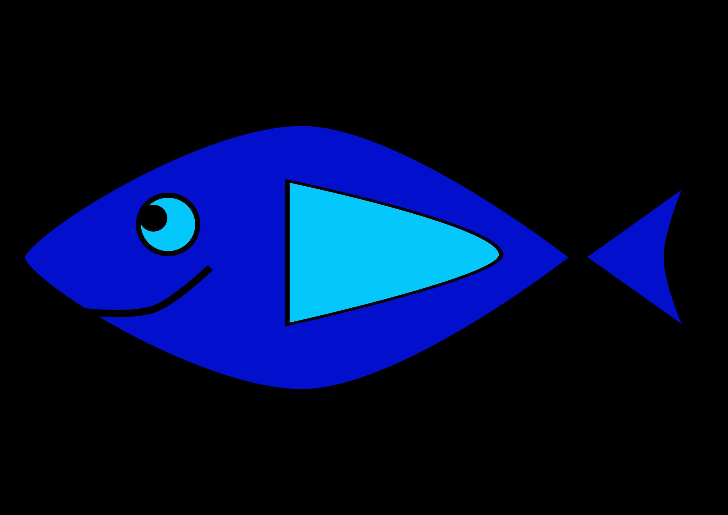 Simple blueridge wallpapers . Clipart fish easy