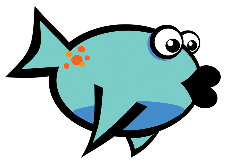 Mail clipart animated. Free teal fish cliparts