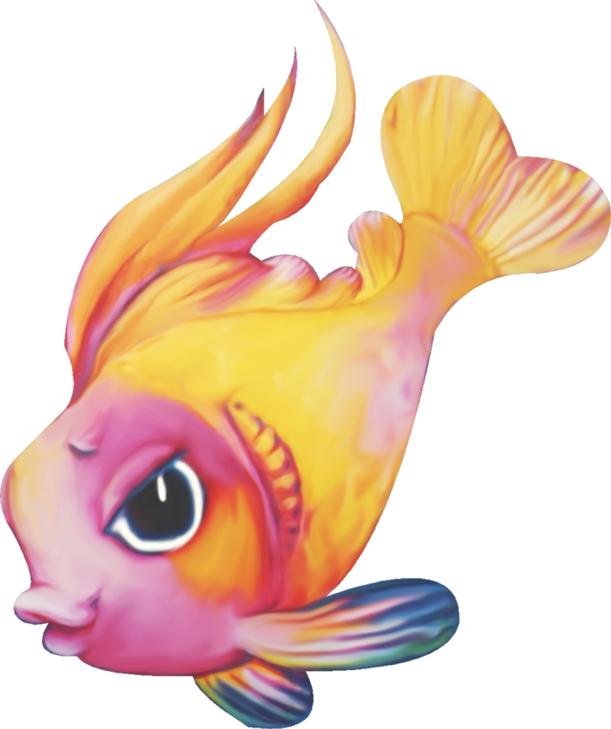 Girly clipart fish. Adl underwater story el