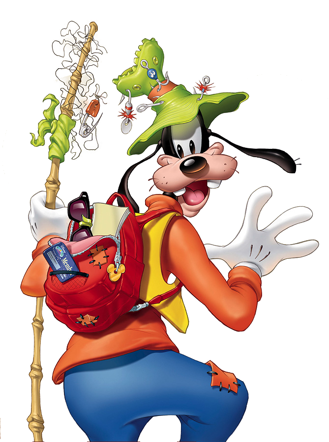 Fishing clipart gone fishing. Goofy reminds me of