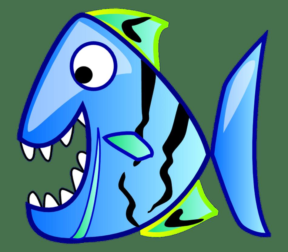 Clipart fish green.  free clip art