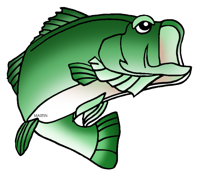 Clipart fish green. United states clip art