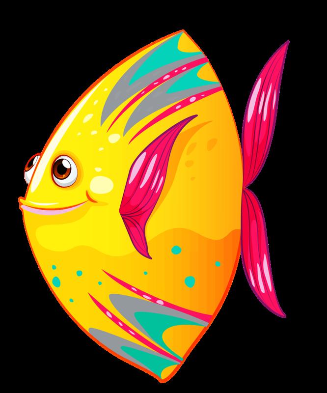f e c. Fish clipart summer