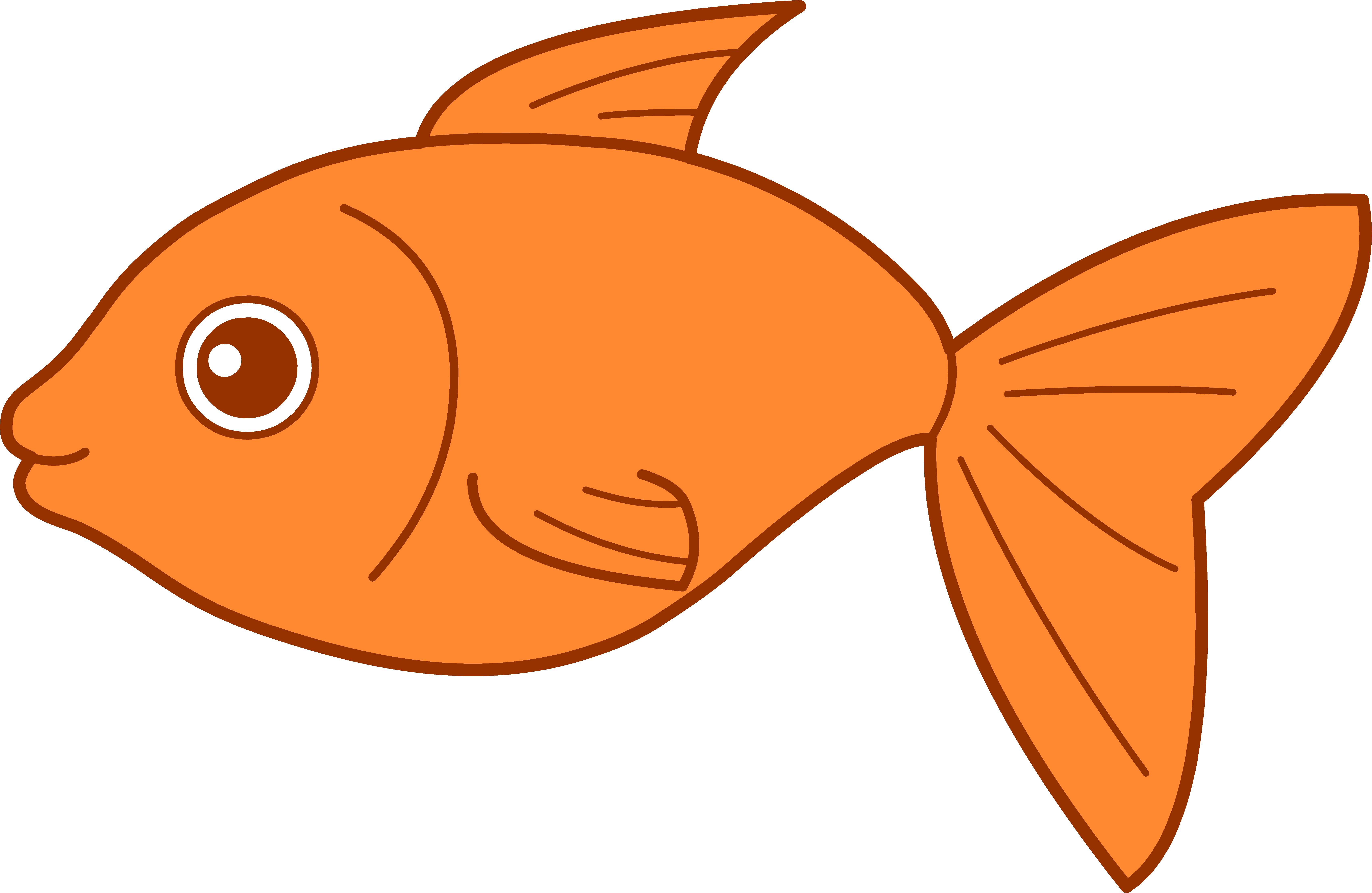 goldfish clipart svg