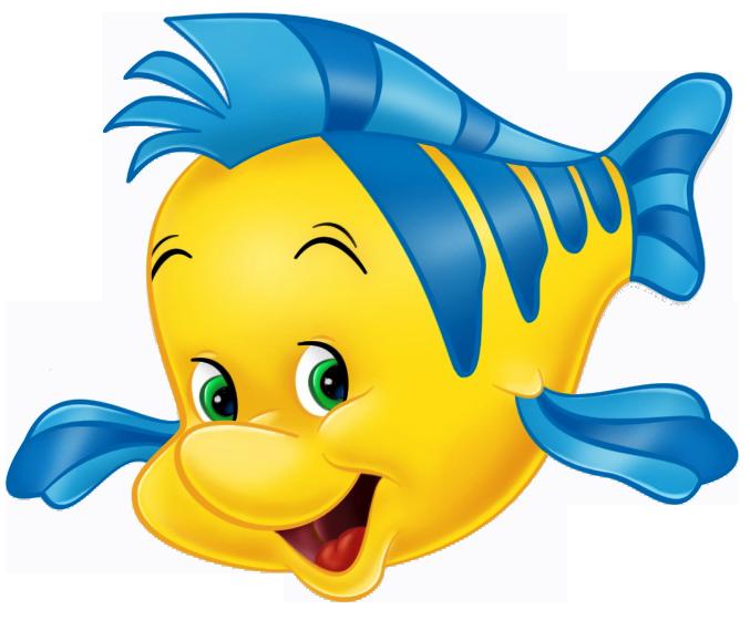 clipart fish little mermaid