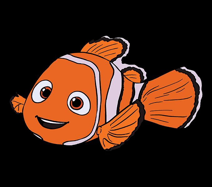 Nemo drawing clip art. Dory clipart character pixar