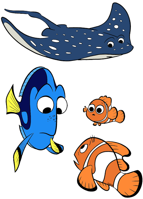 Sunset clipart ray. Finding dory clip art