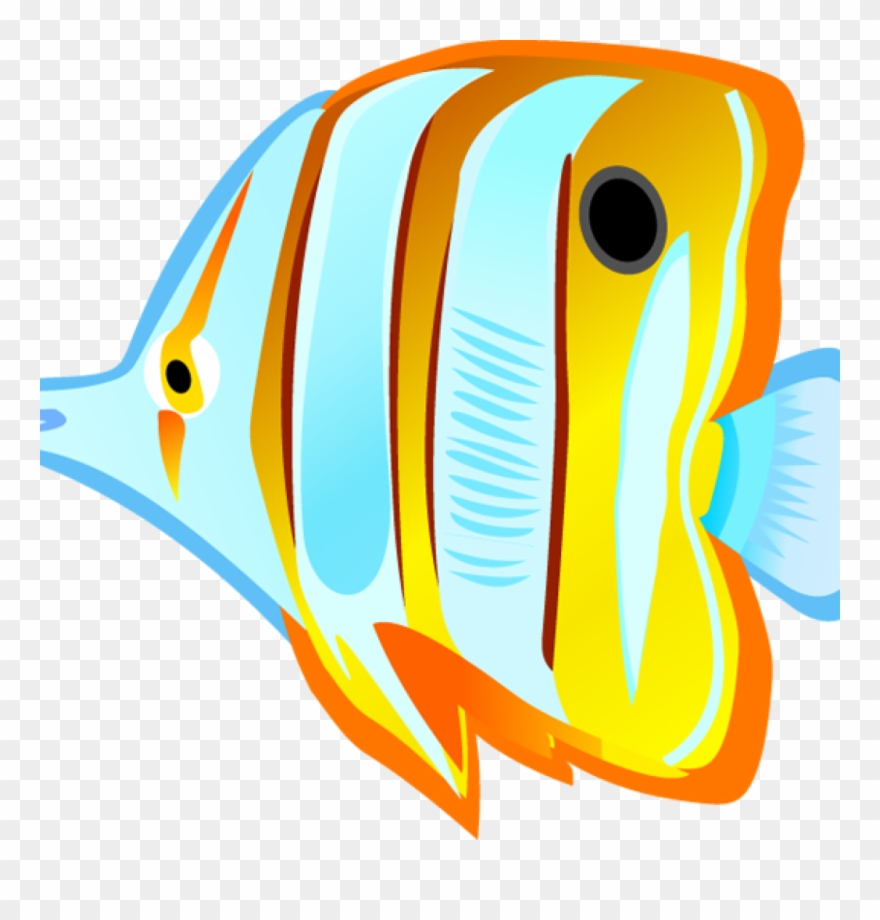 Fish with . Clipart ocean tropical