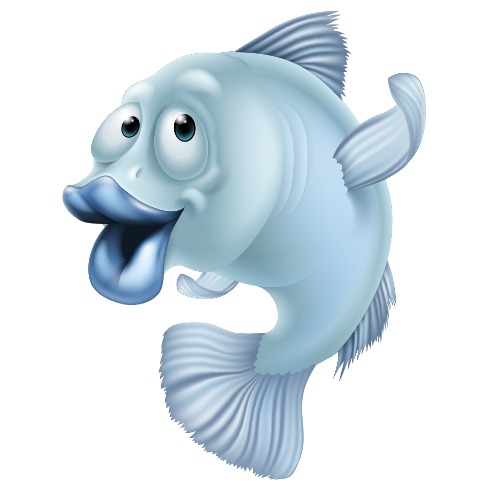 Clipart fish open mouth. And chips french fries