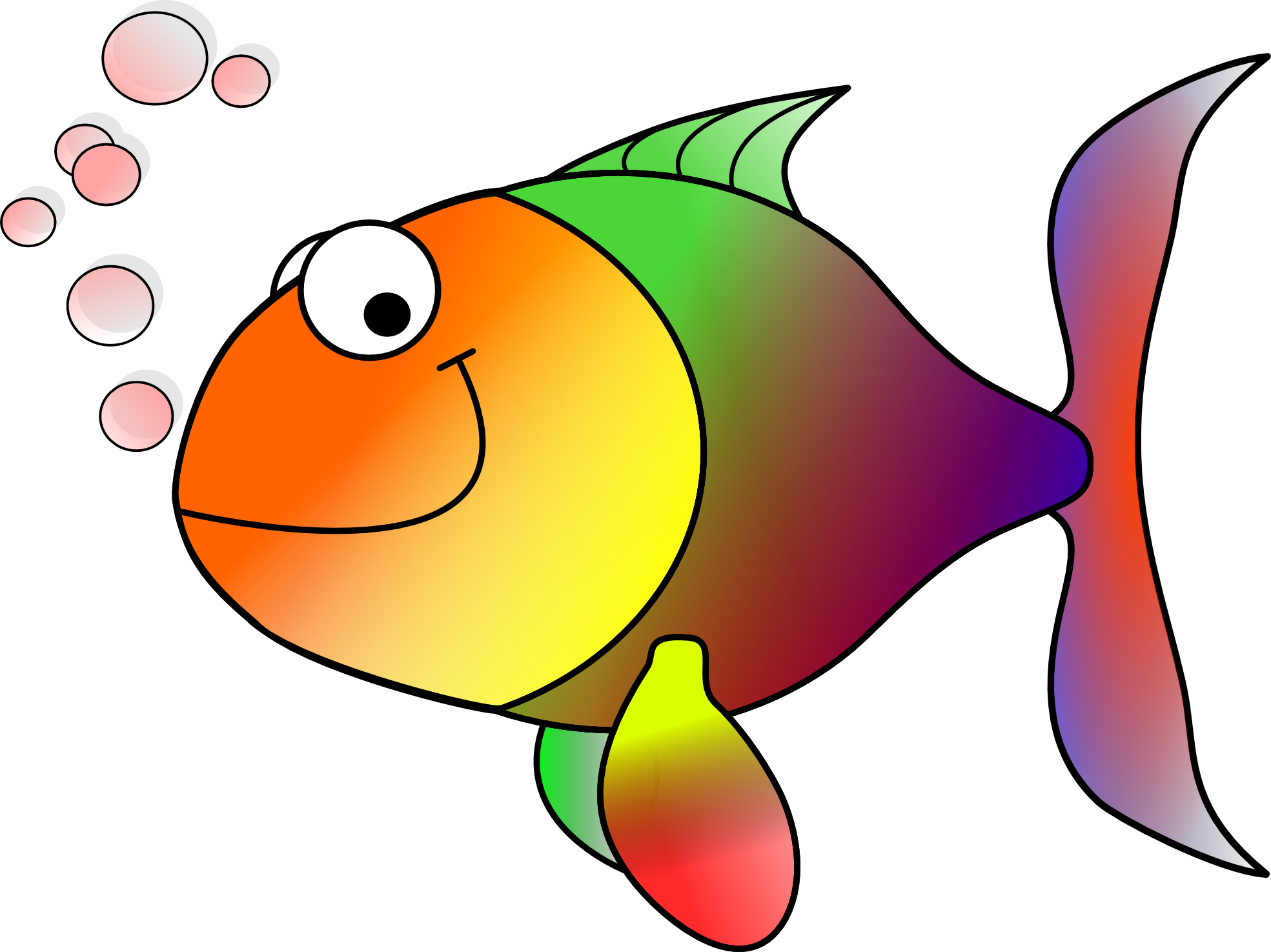 Clipart fish open mouth. Angler at getdrawings com