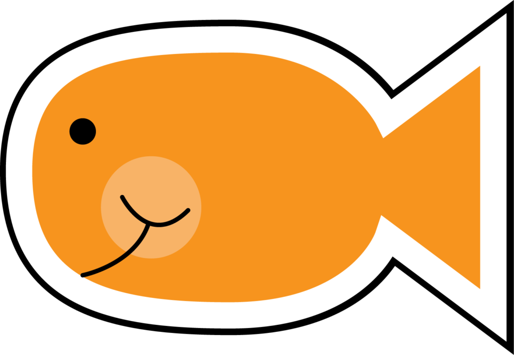 Clipart fish orange. Download cute images pics