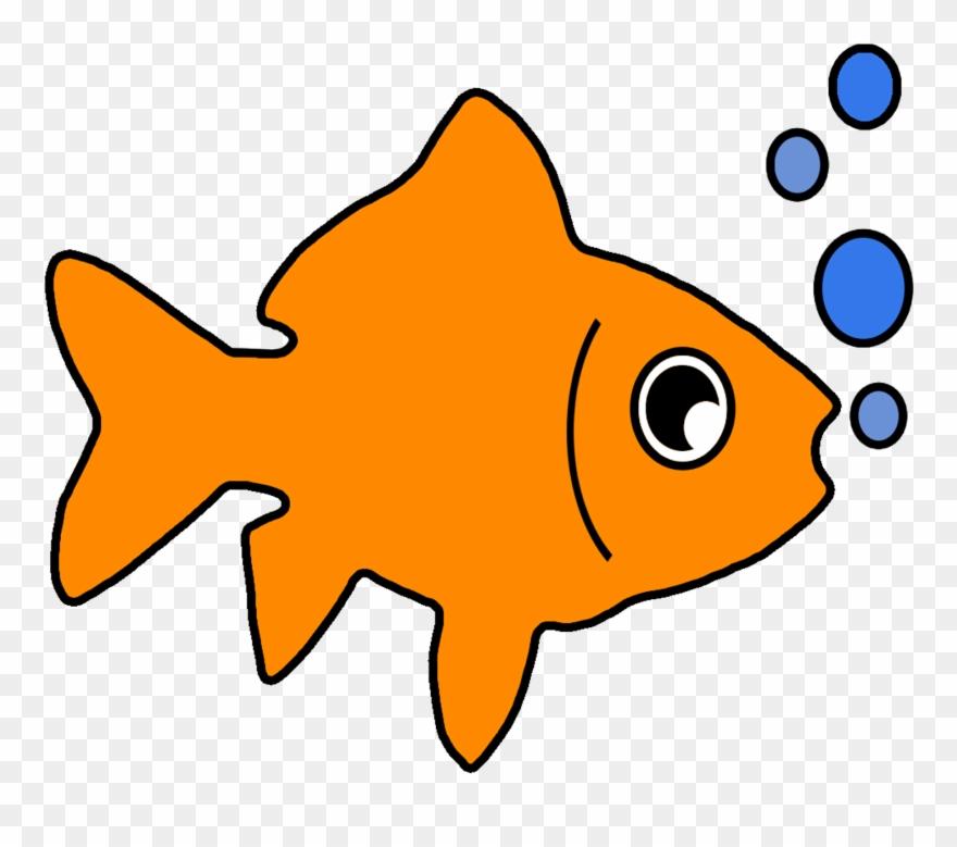 Clipart fish orange. Tank goldfish clip art
