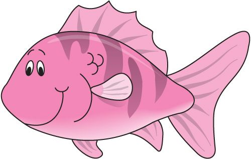 Pin by nancy henk. Fish clipart pink