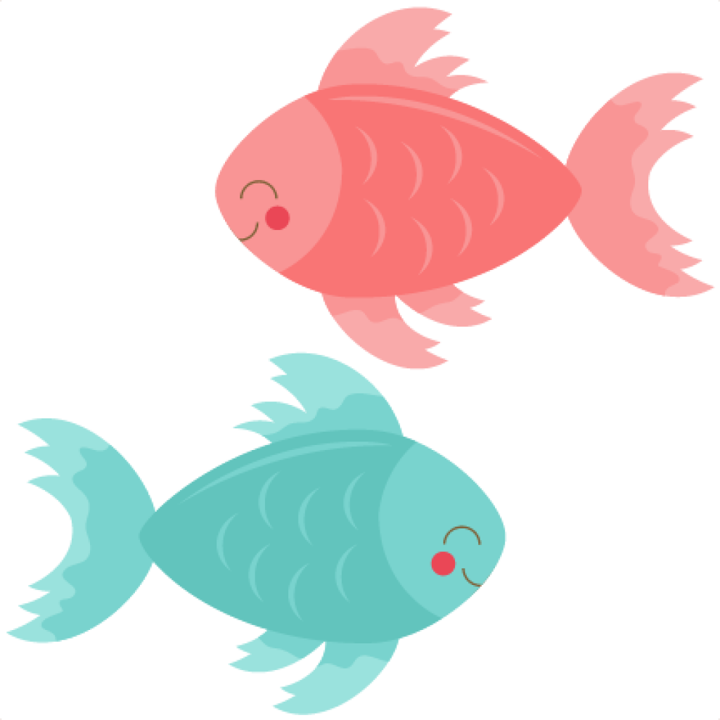 Fish clipart plant. Cute hand hatenylo com