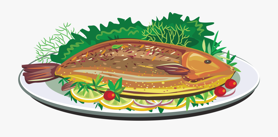 Fried dish clip art. Fries clipart roast fish