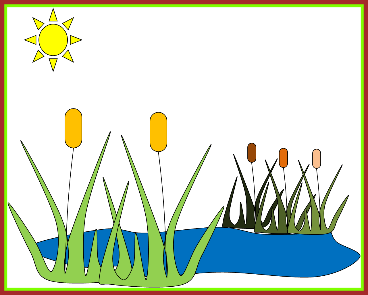 Awesome cliparts clip art. Ducks clipart fish pond game
