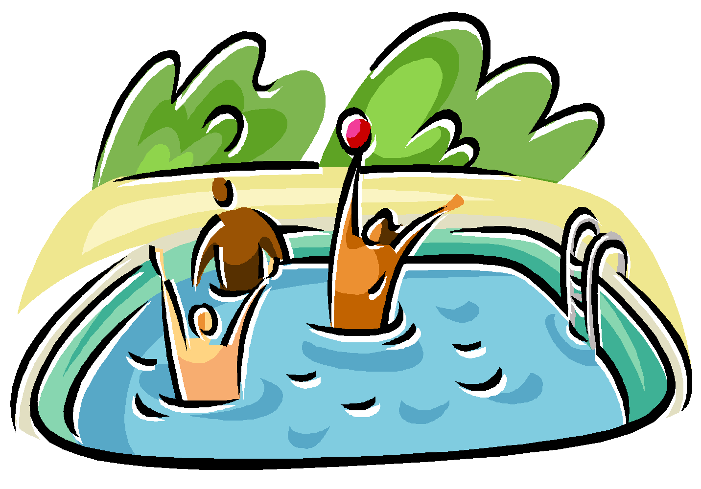 collection of in. Ocean clipart swimming