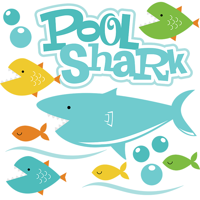 Clipart shark file. Pool svg files for