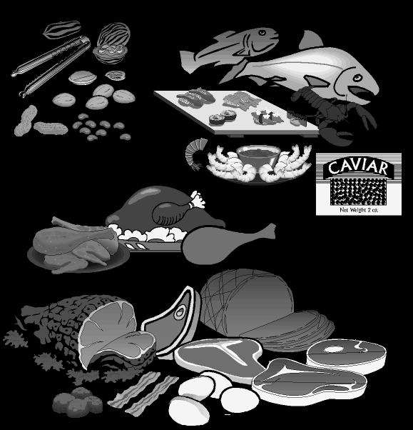 Foods clipart meat. Fish food clipartblack com