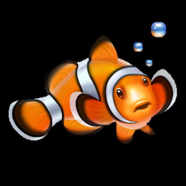 clipart fish scuba