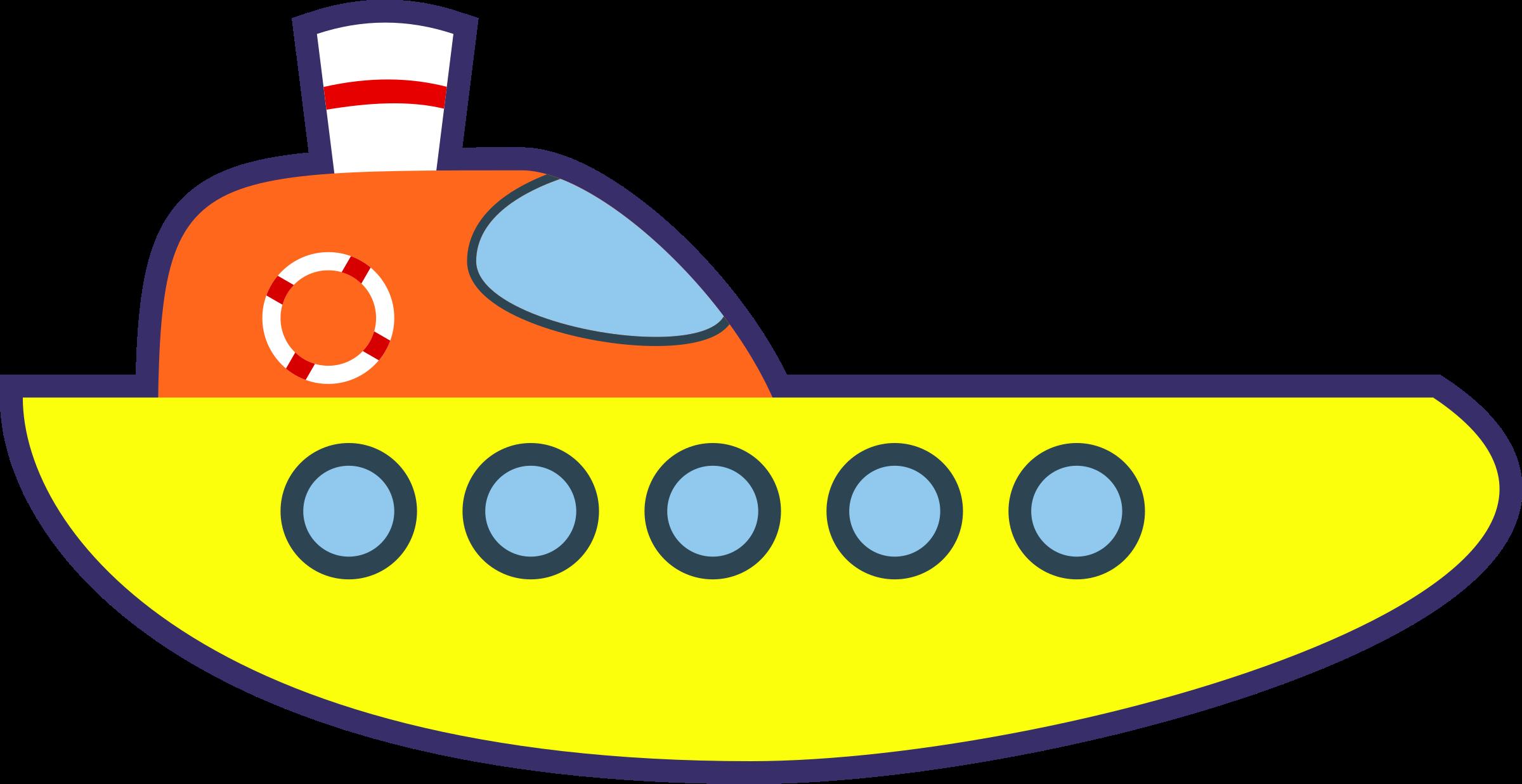 Yellow cartoon icons png. Clipart fish ship