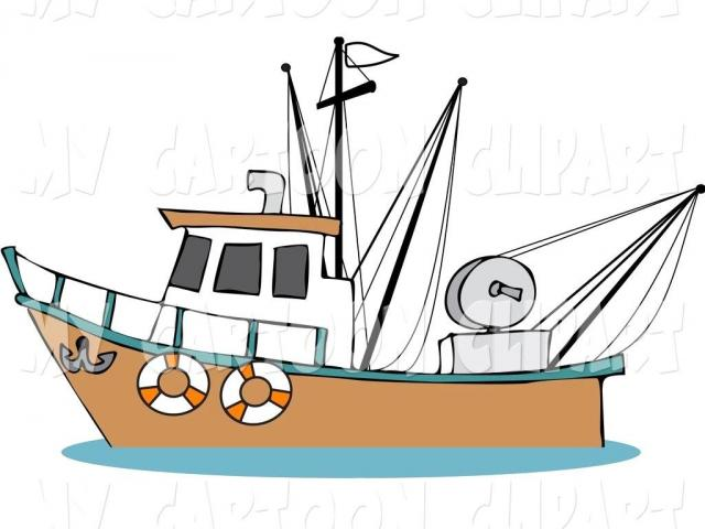 Free fishing boat download. Clipart fish ship